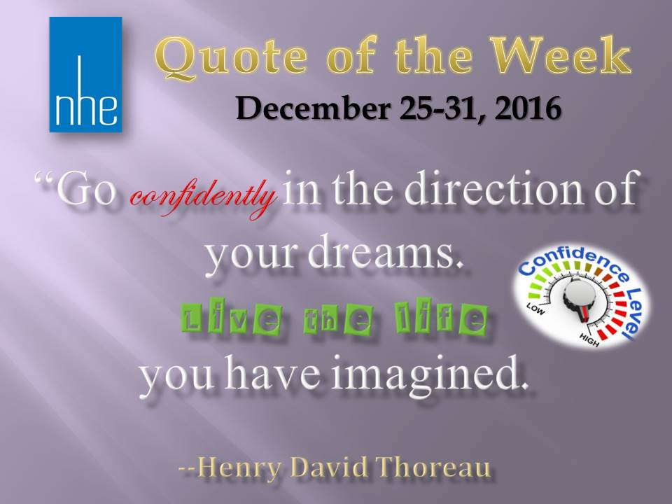 Quote of the Week December 25-31, 2016