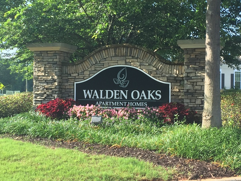 walden monument sign